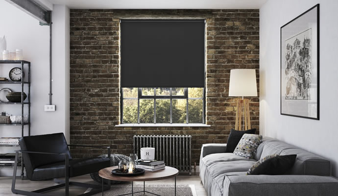 Black Blackout Blinds Glasgow