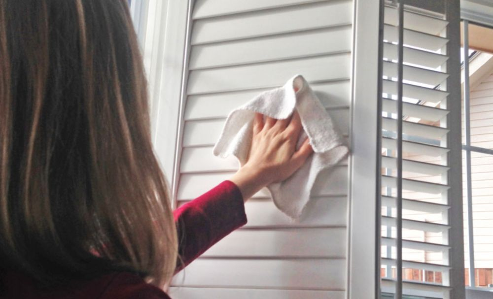 Cleaning your Shutters