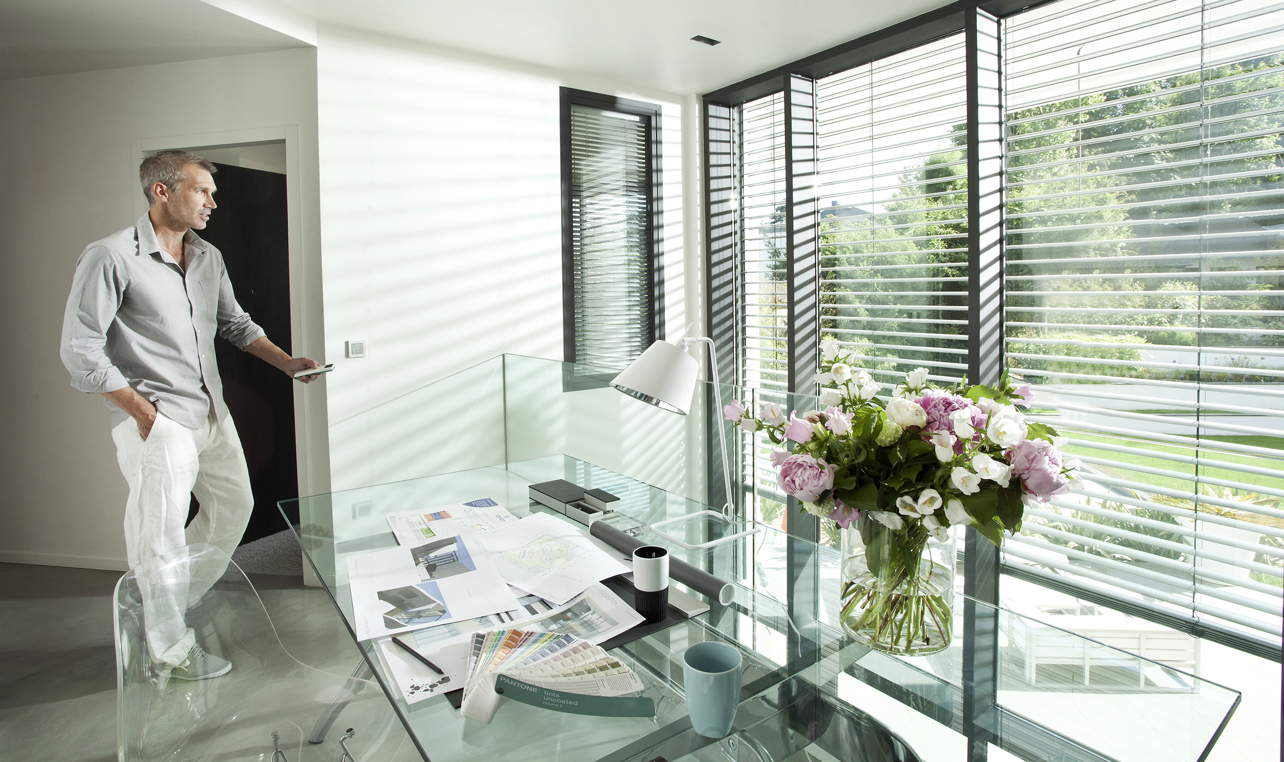 Motorised or Remote Control Blinds and shutters