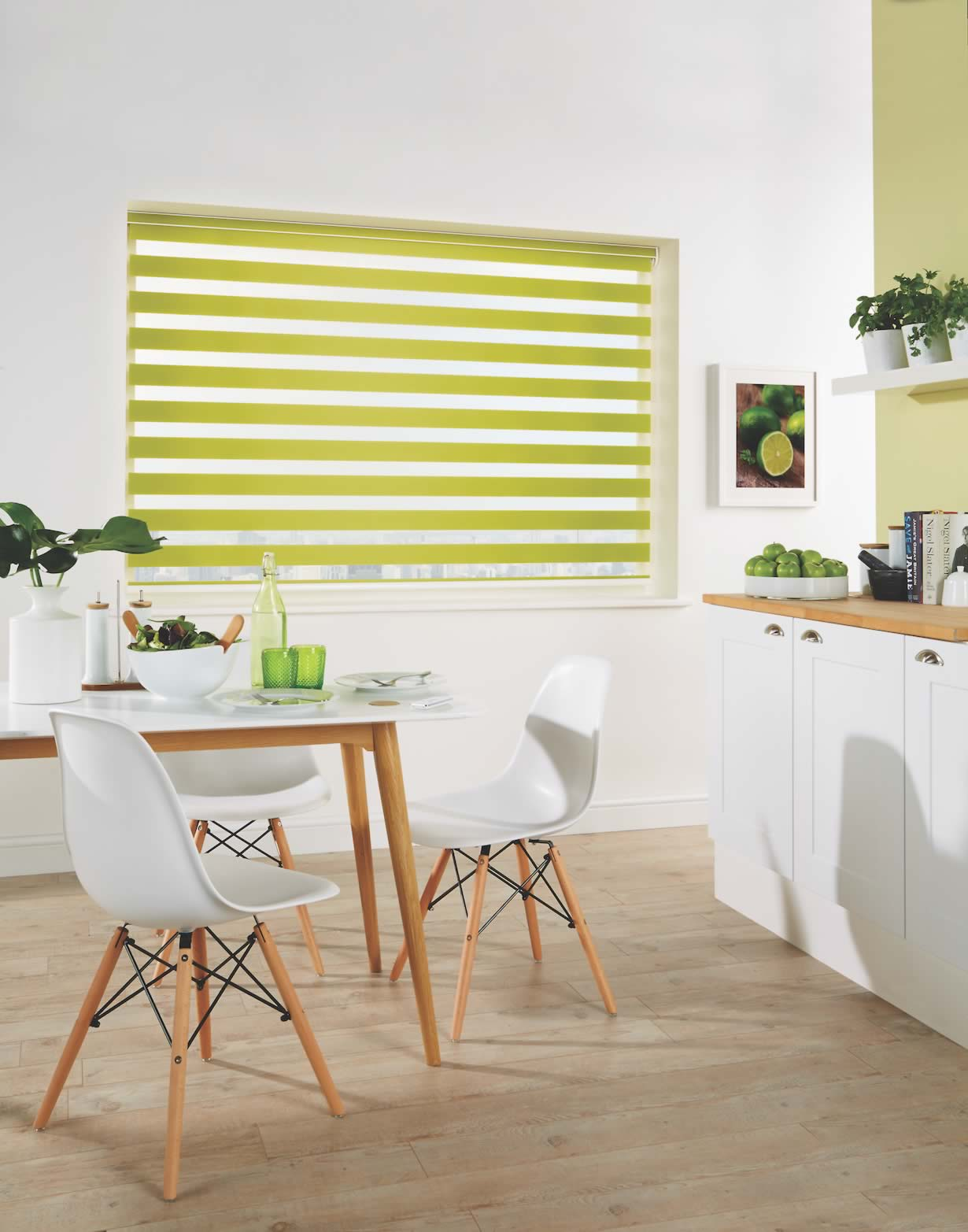 Day and Night Blinds - Capri Paradise Green