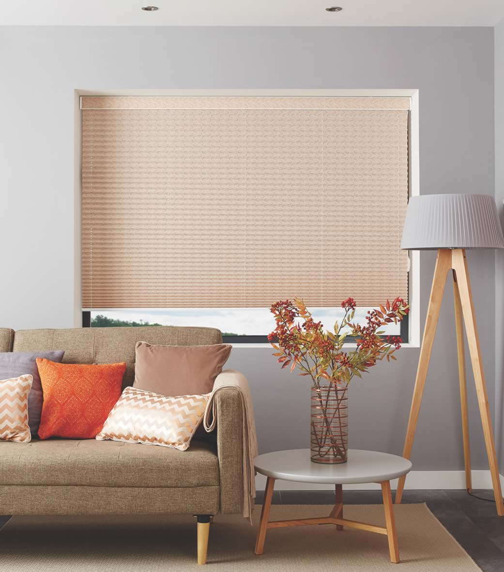 Pleated Blinds - Aura Copper
