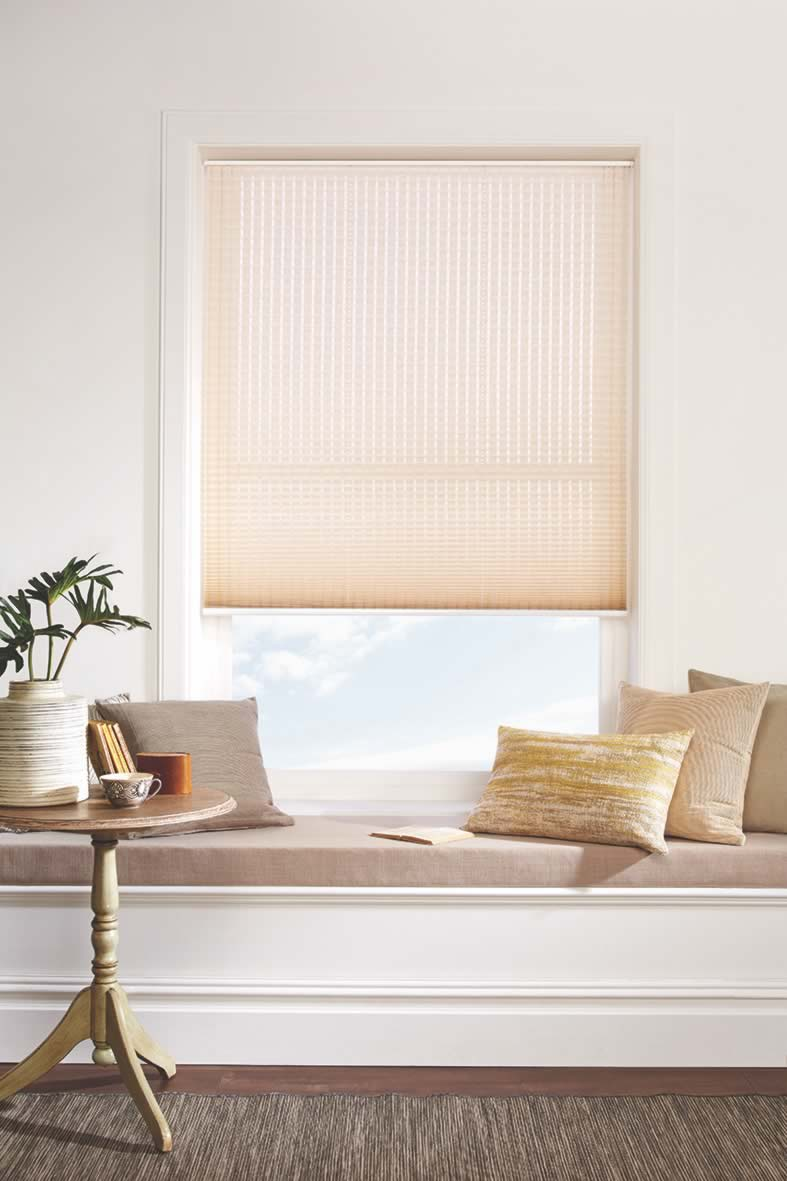 Pleated Blinds - Bali Linen