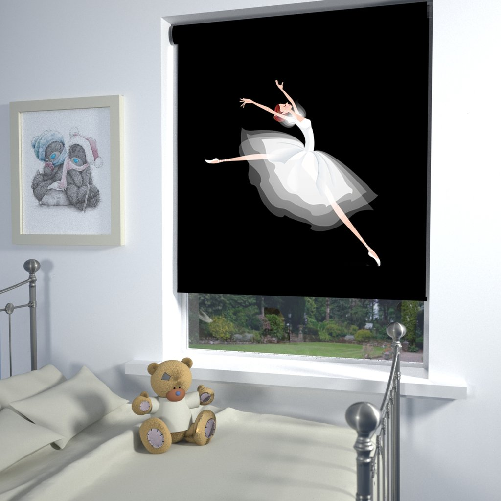 Printed Blinds - Ballerina Blinds Glasgow