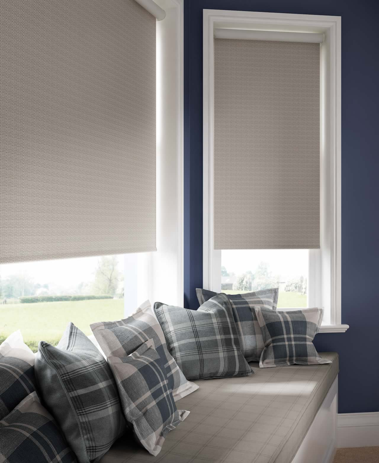 Roller Blinds - Costello Almond