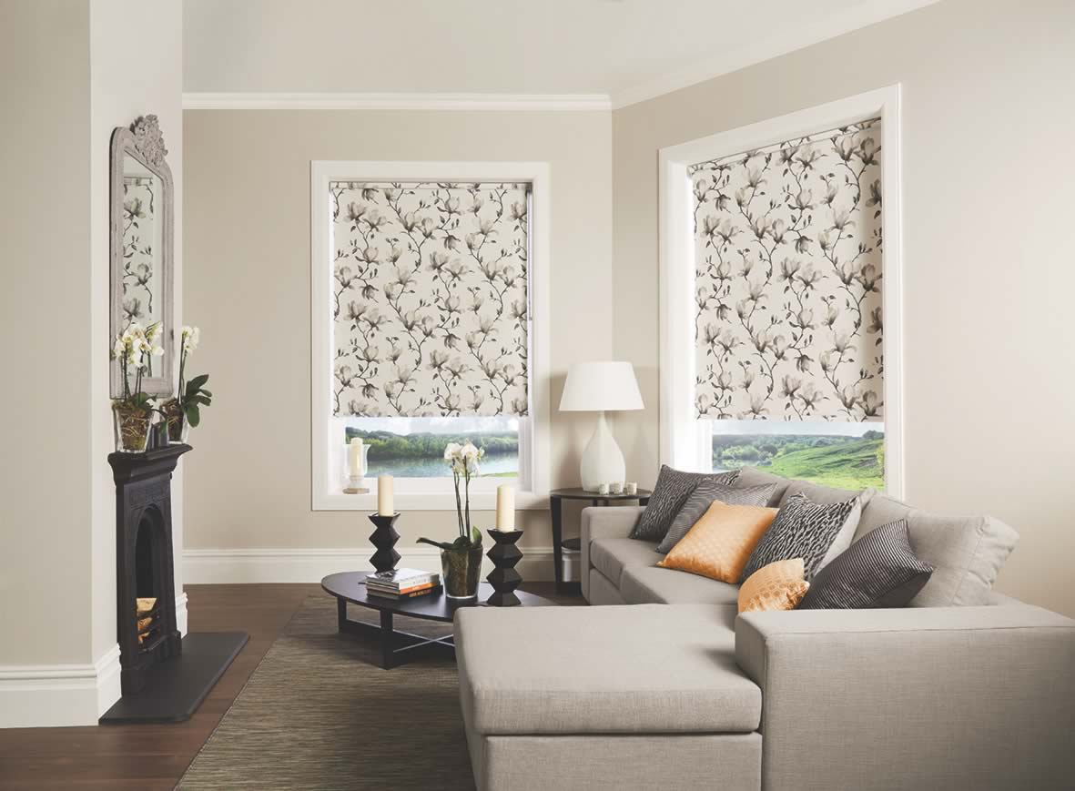 Roller Blinds - Magnolia Inky