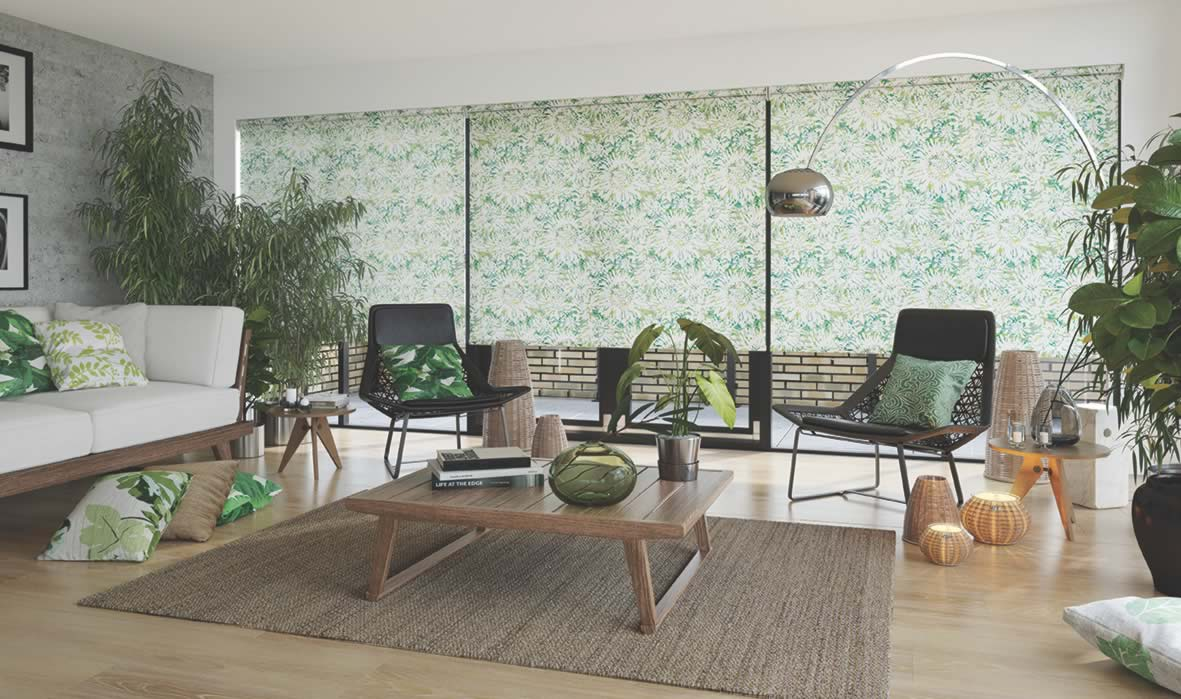 Roller Blinds - Tropicana Apple Mojito