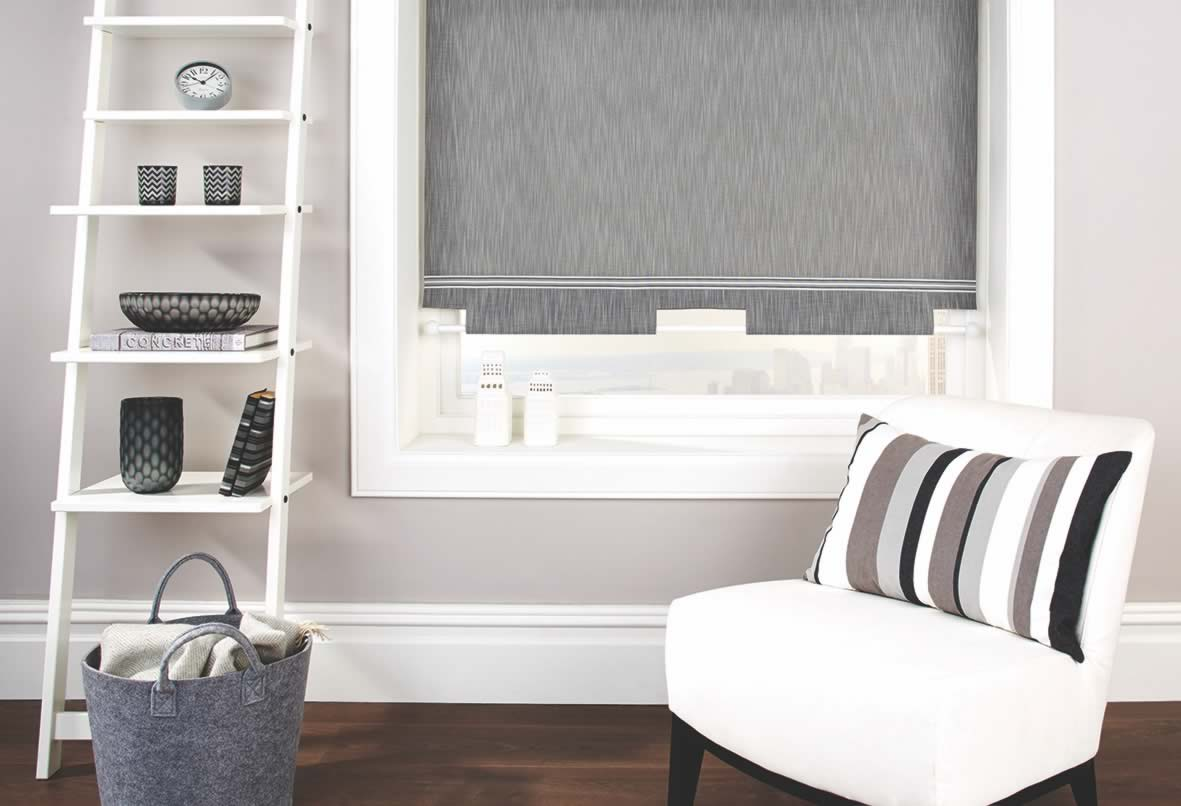 Roller Blinds - Vermont Charcoal