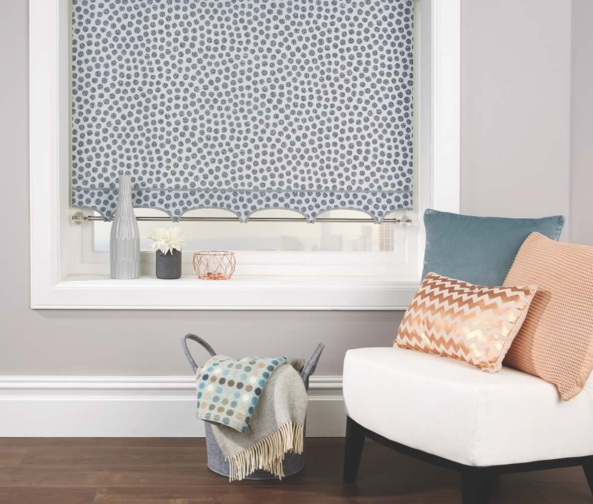 Roller Blinds - Zeta Silver Melody