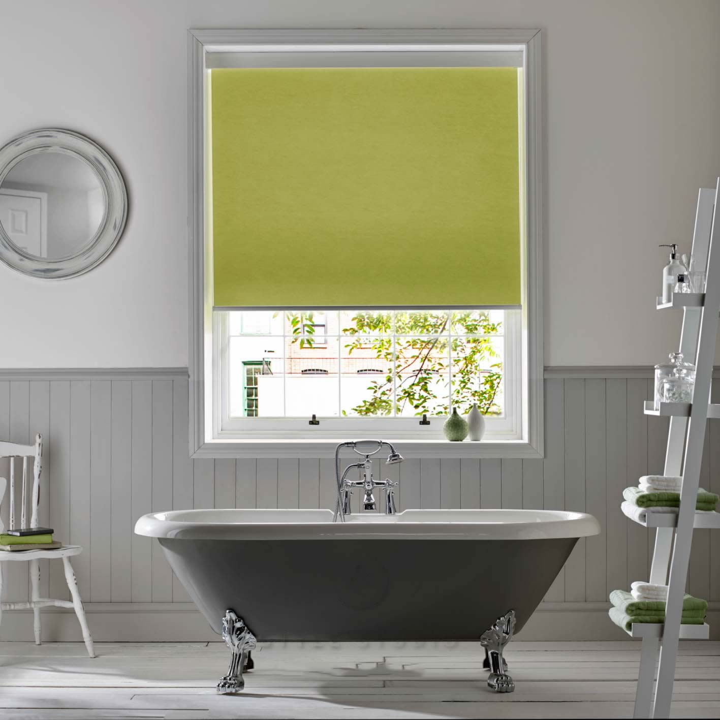 Senses Roller Blinds - Atlantex Green
