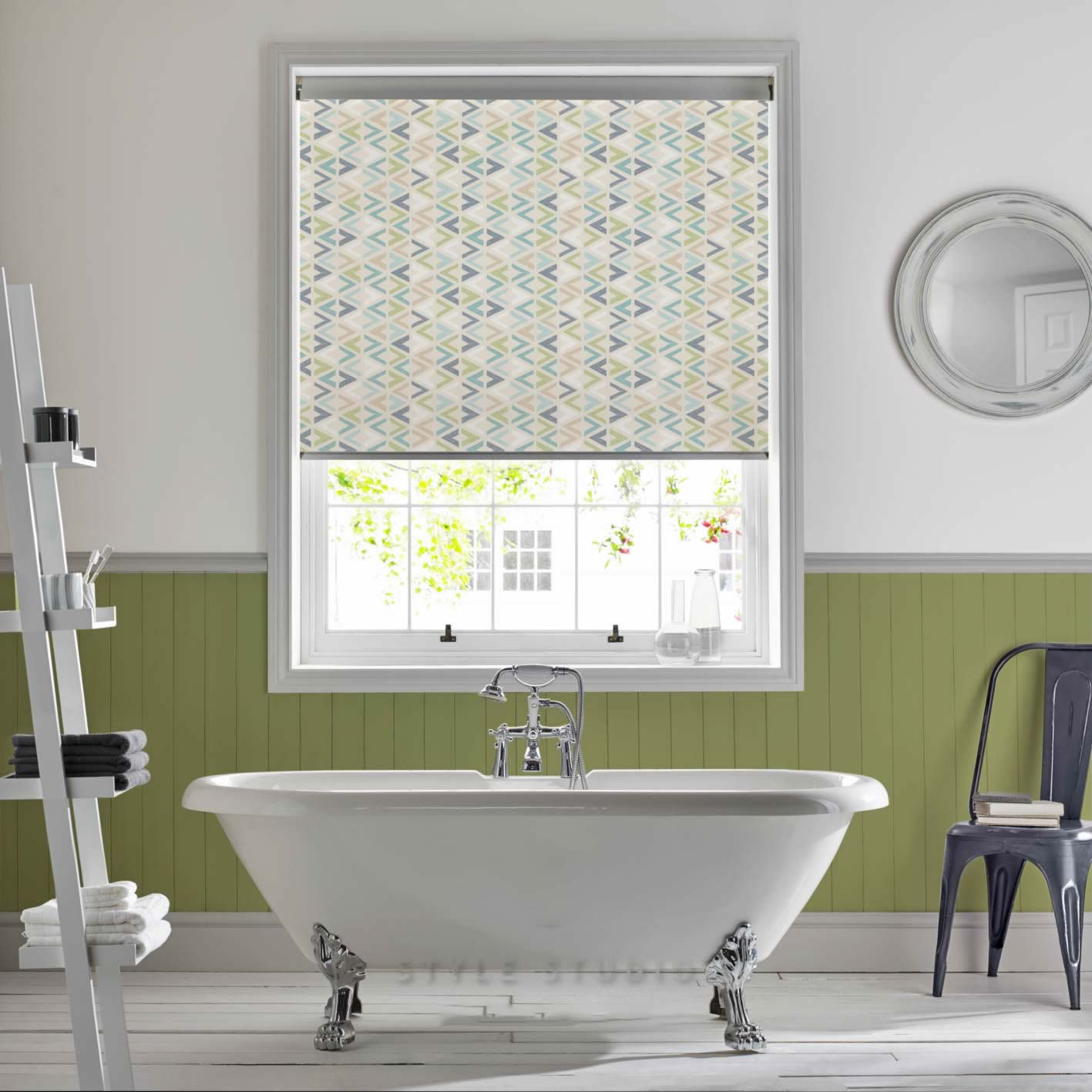 Senses Roller Blinds - Azzura Aqua