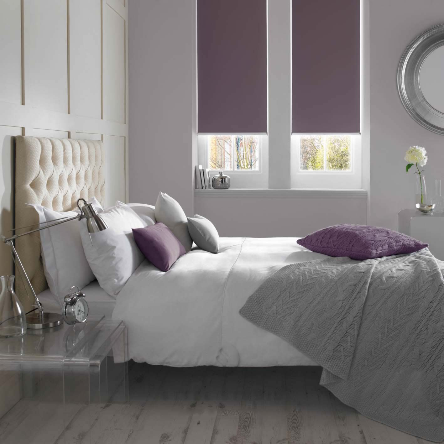 Senses Roller Blinds - Banlight BO Mulberry