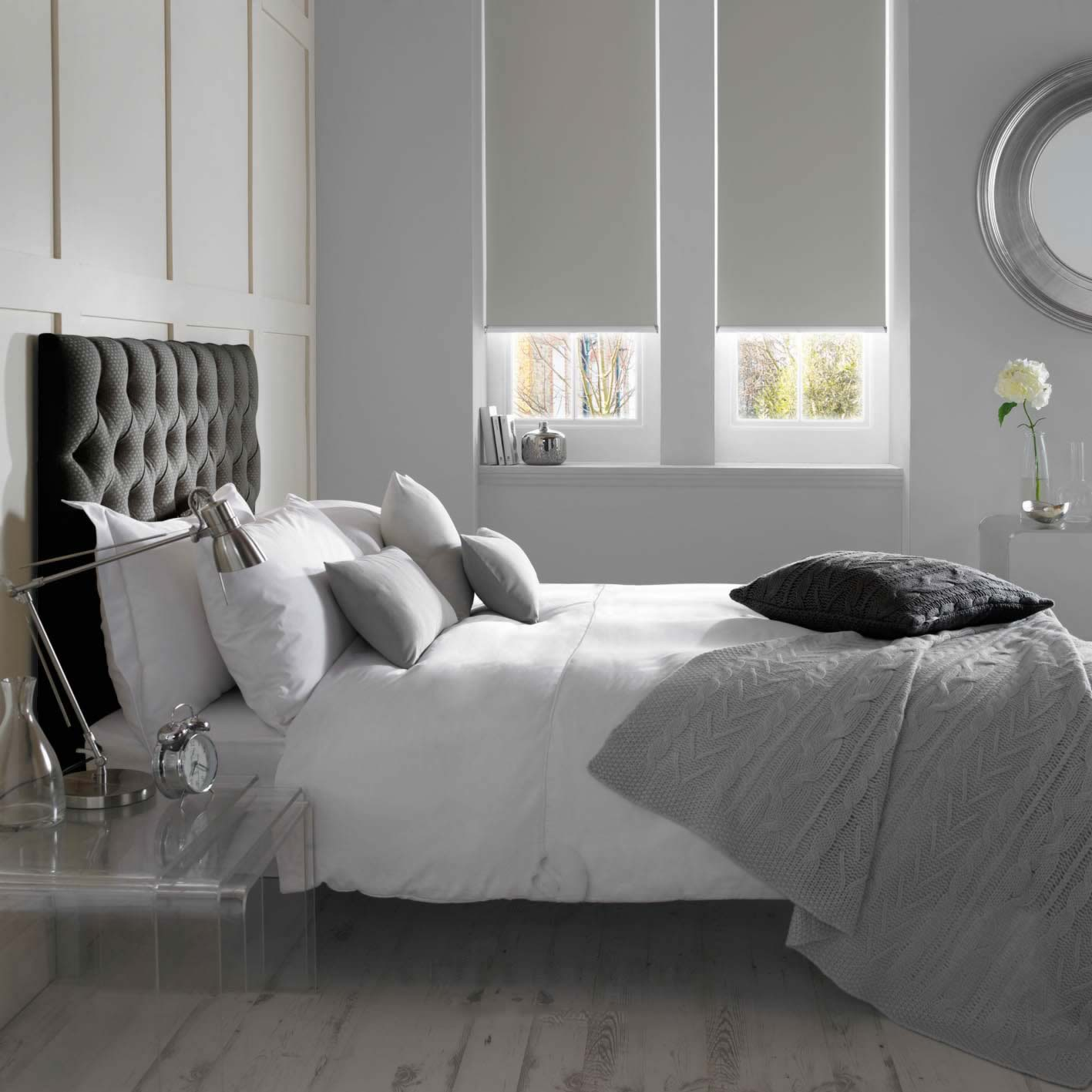 Senses Roller Blinds - Banlight BO Silver