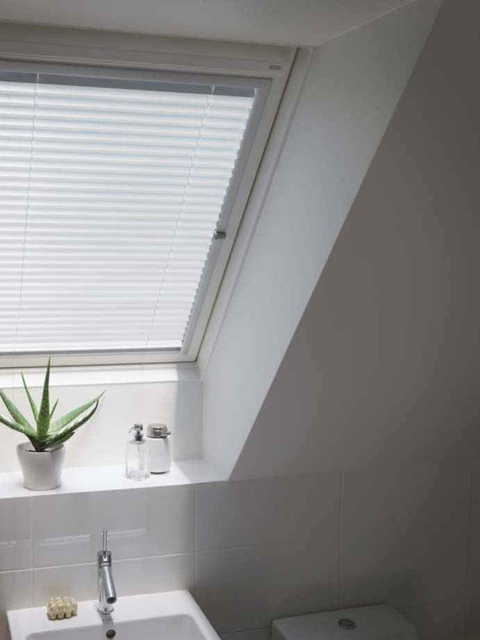 Velux and Skylight Blinds - White Venetian Skylight