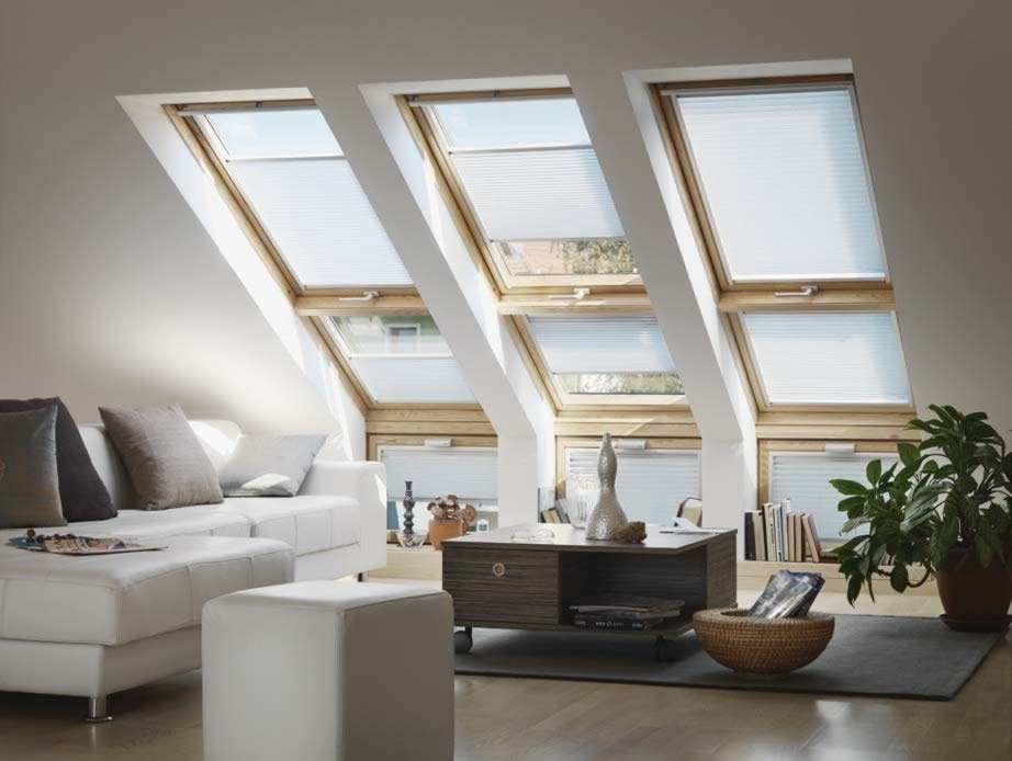 Velux and Skylight Blinds - Flying Pleated Skylight