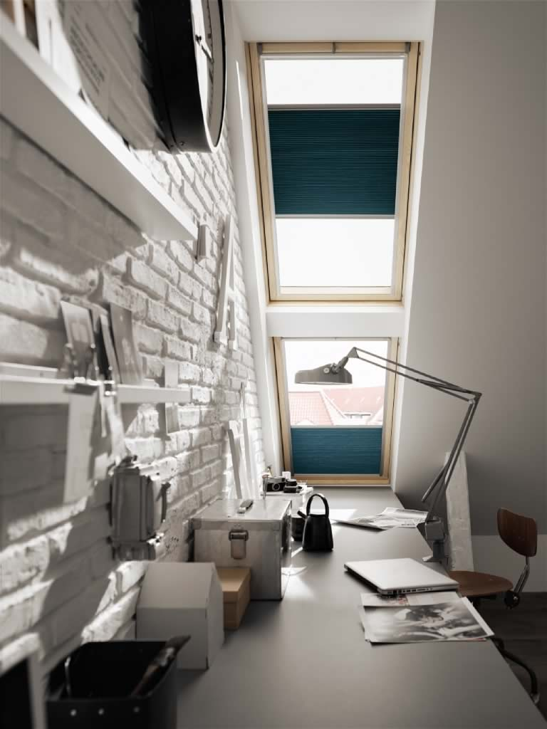 Velux and Skylight Blinds - Energy Efficient Pleated Skylight