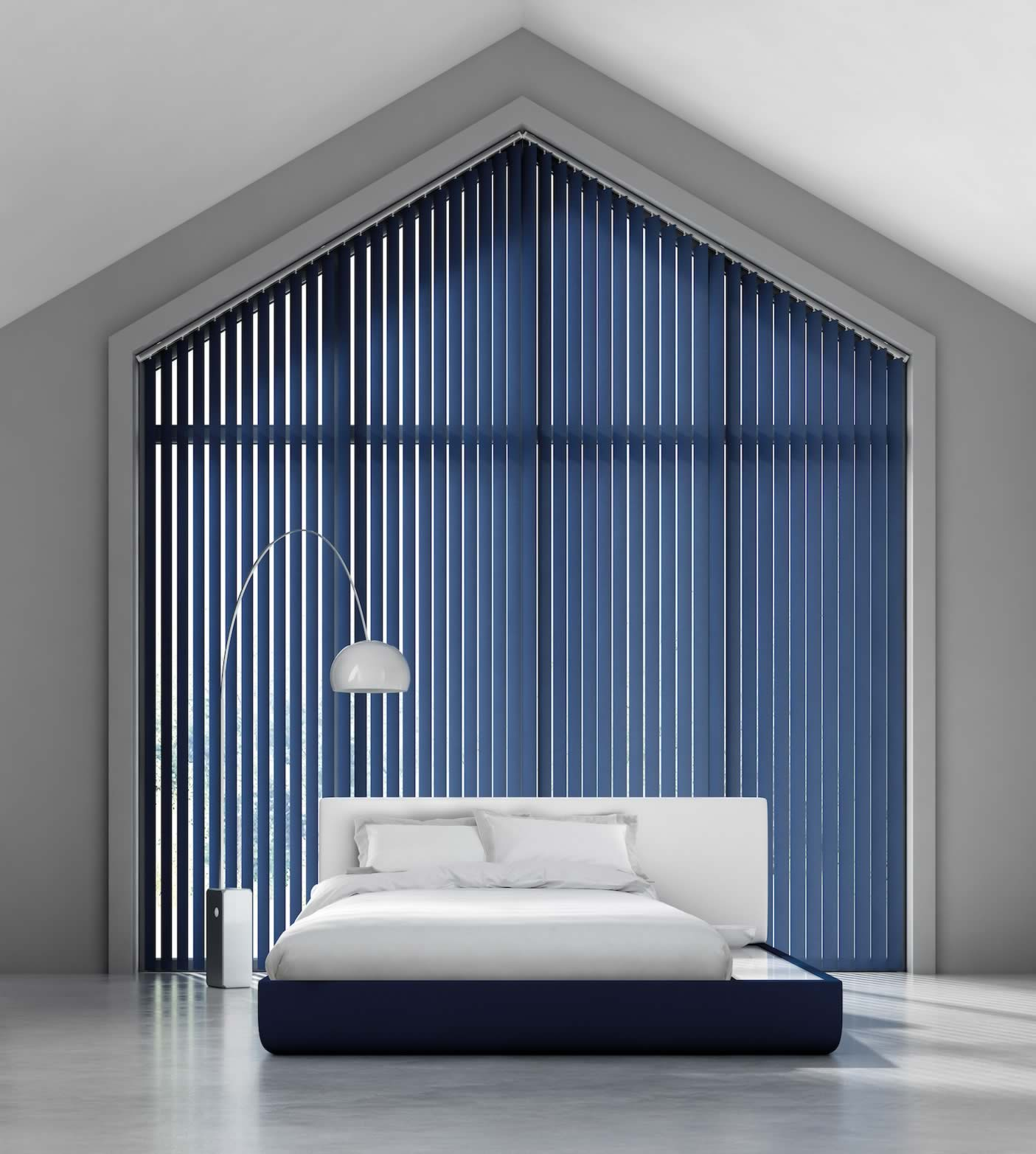 Vertical Blinds - Bella Indigo