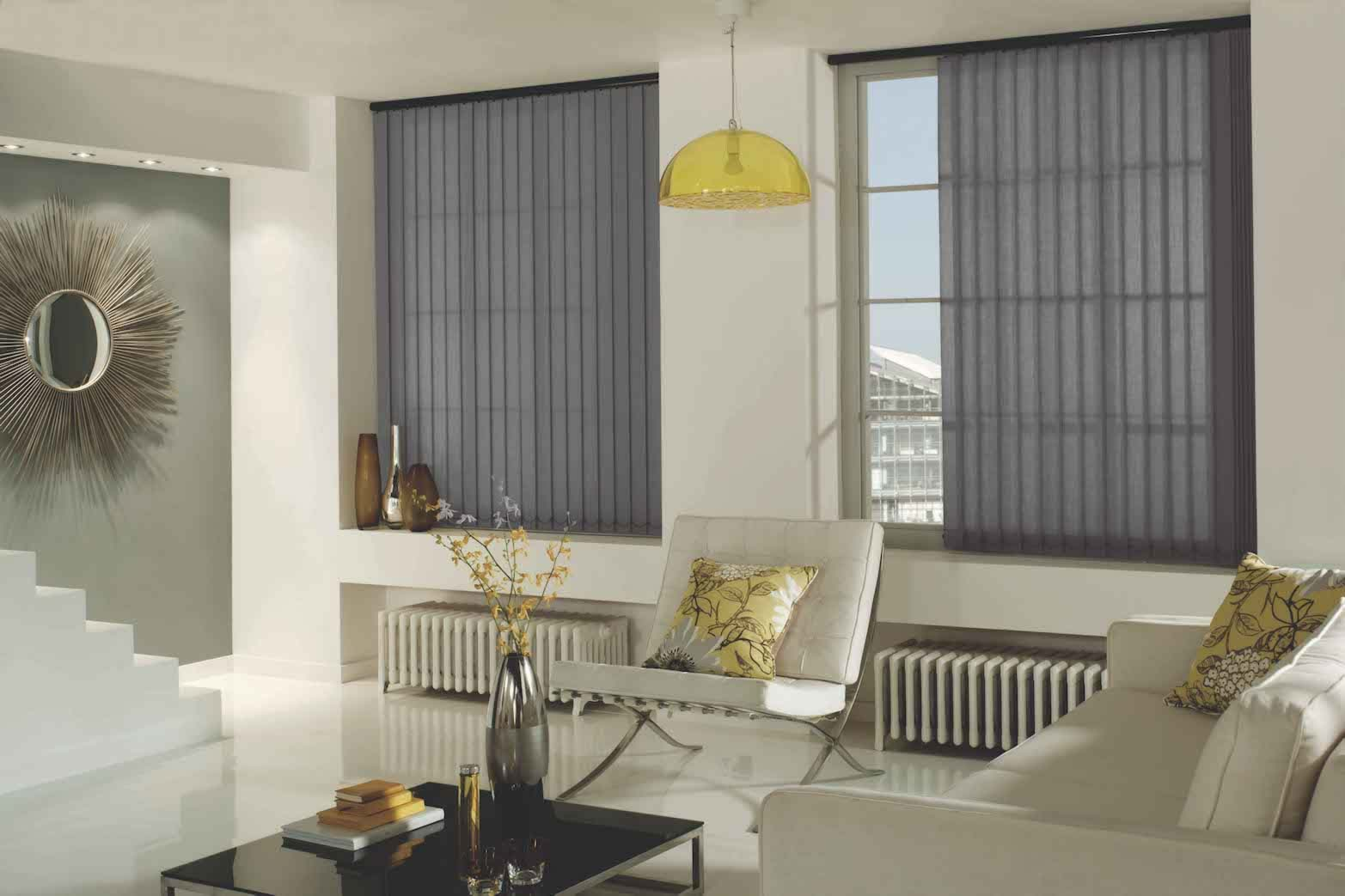 Vertical Blinds - Carnival Pewter