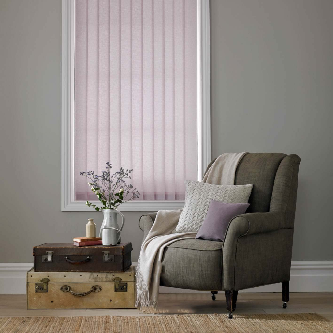 Vertical Blinds - Luxe Orchid